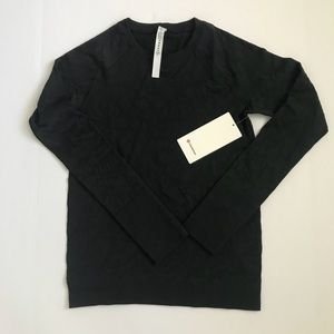 Lululemon Rest Less Pullover BLK Black Size 10